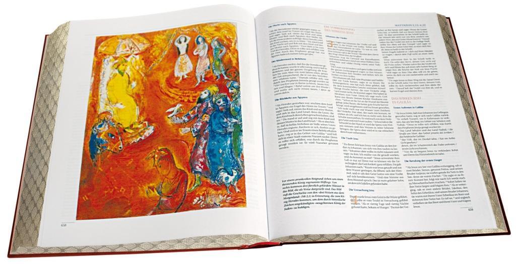 Verlag Katholisches Bibelwerk GmbH Die große Chagall Bibel