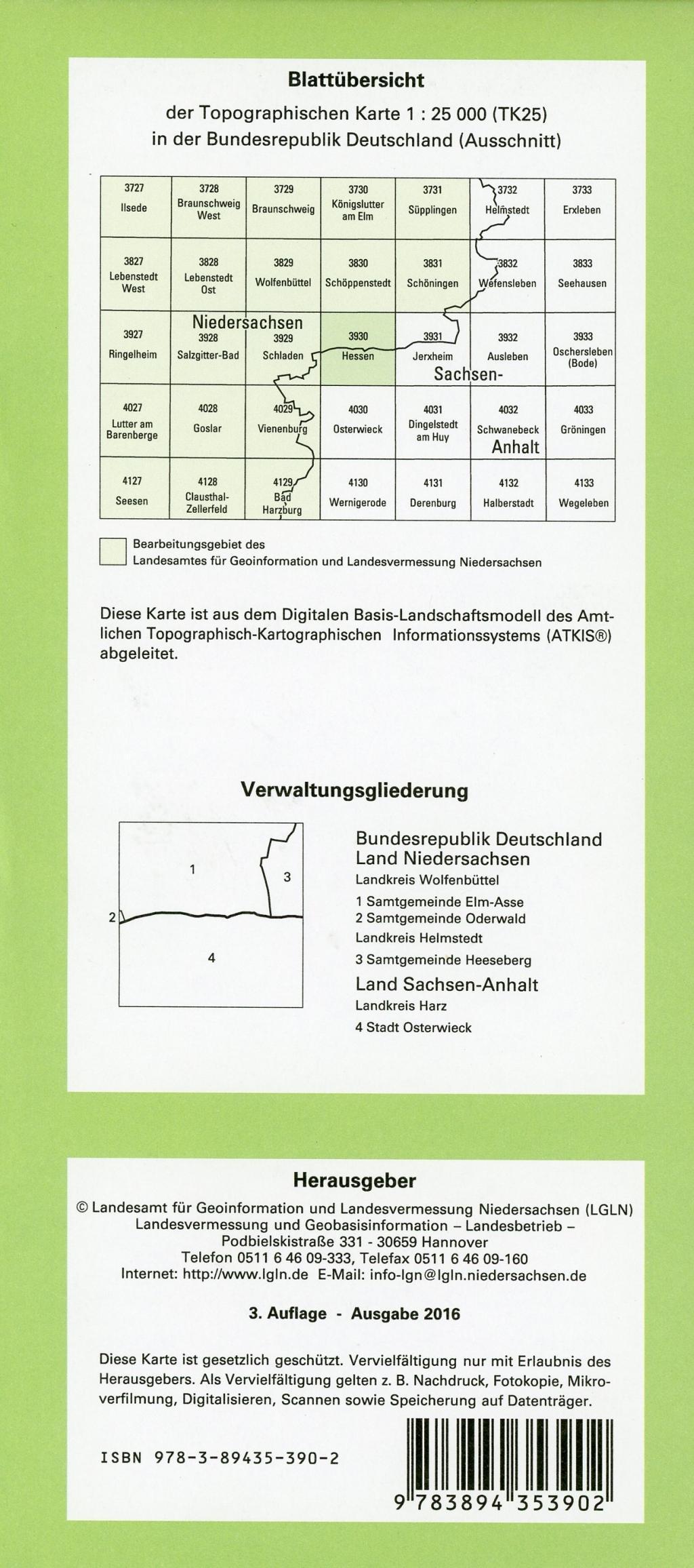 Hessen 1 : 25 000