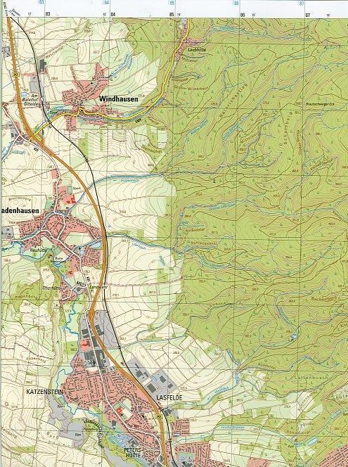 Osterode am Harz 1 : 25 000. (TK 4227/N)