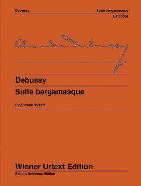Suite bergamasque, fuer Klavier - Debussy, Claude