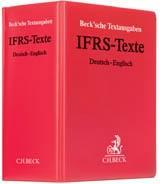 IFRS-Texte (ohne Fortsetzungsnotierung). Inkl. 20. Ergaenzungslieferung