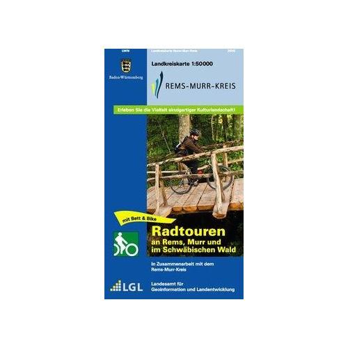 Rems-Murr-Kreis 1 : 50 000  Amtliche Karten Baden-Württemberg. Topographische ..