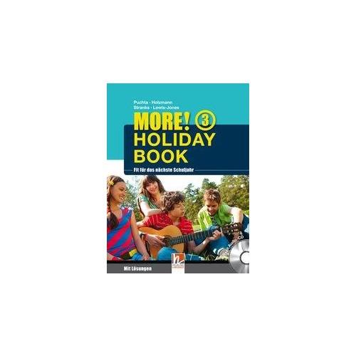 MORE! Holiday Book 3, mit 1 Audio-CD Puchta, Herbert Holzmann, Christian Stran..