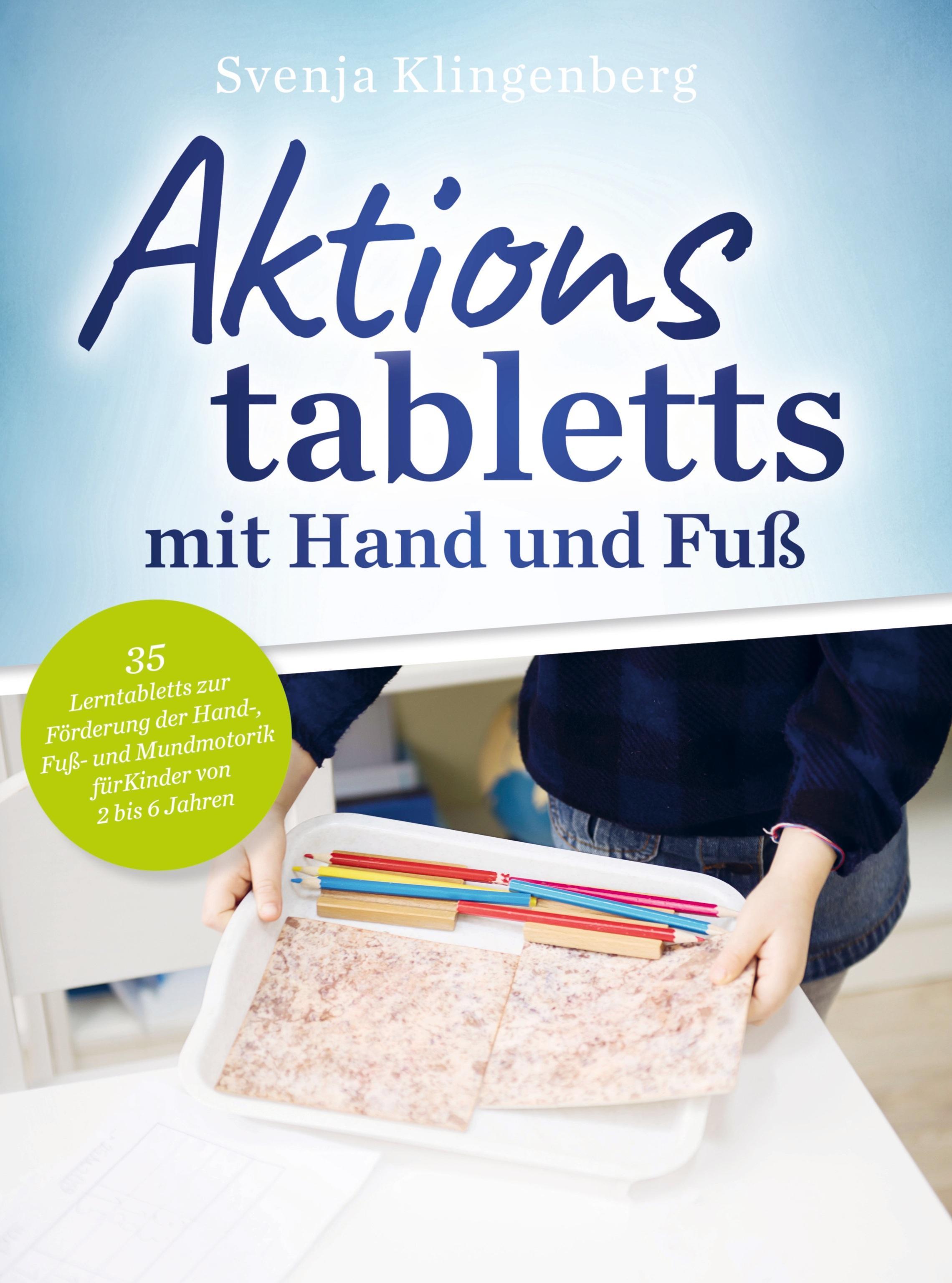 Aktionstabletts mit Hand und Fuß Svenja Klingenberg