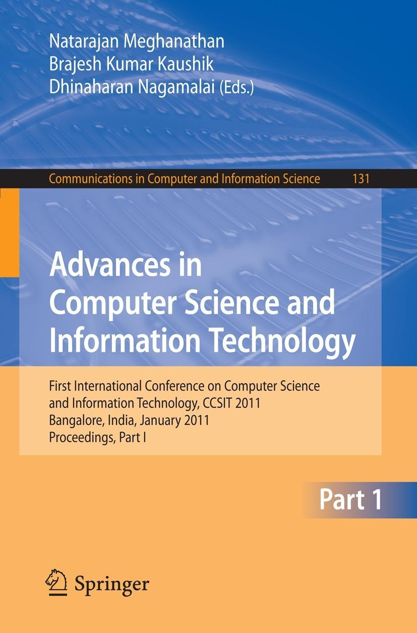 Advances in Computer Science and Information Technology  Communications in Com..