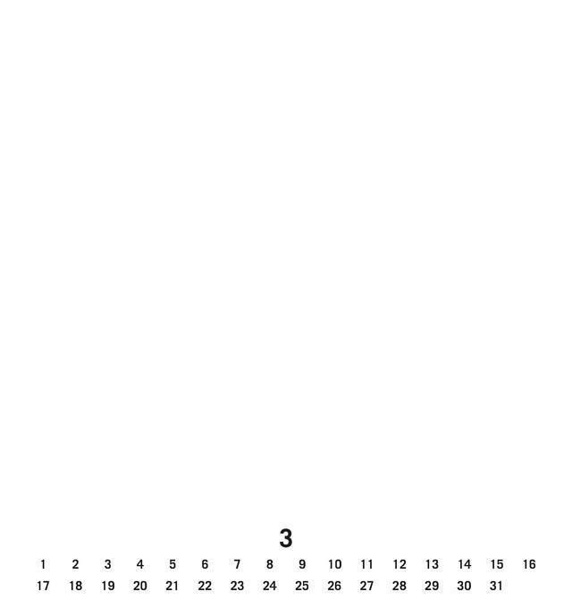 Kalender 2019 Fotokalender klein weiß immerwährend 2015 Basteln ...