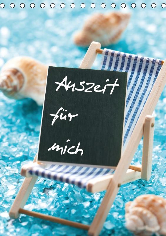 Auszeit wellness  Kalender 2018 DIN A5 Auszeit für mich Hochformat wellness spa ...