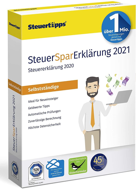 SteuerSparErklärung Selbstständige 2021 403650031 - 73,95
