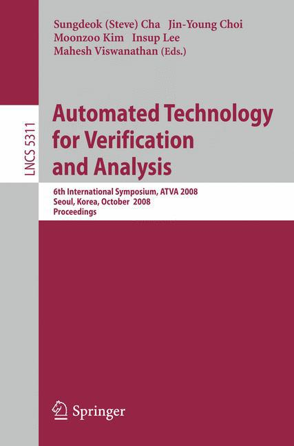 Automated Technology for Verification and Analysis  Lecture Notes in Computer ..