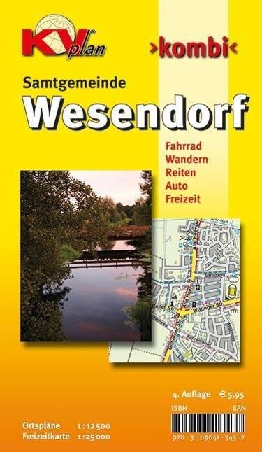 Samtgemeinde Wesendorf 1 :12 500  KV-Plan-Kombi