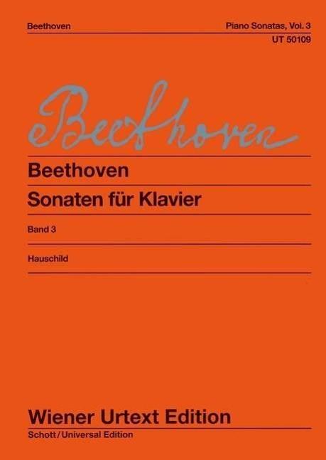 Sonaten fuer Klavier. Bd.3 - Beethoven, Ludwig van