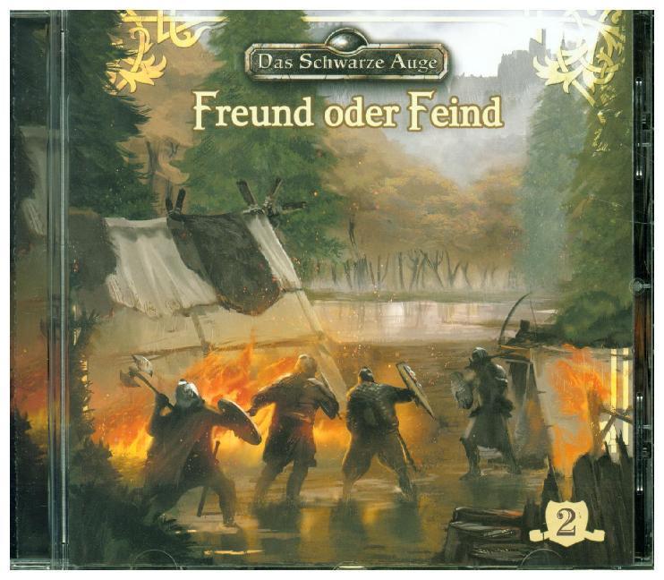 Das schwarze Auge - Freund oder Feind, 1 Audio-CD