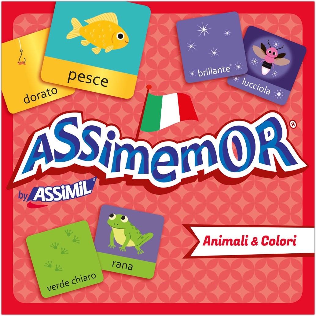 Assimemor, Animali & Colori - Tiere & Farben (Kinderspiel)