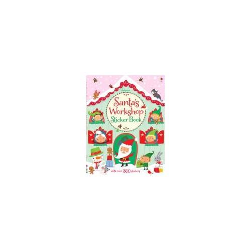 Santa s Workshop Sticker Book Watt, Fiona
