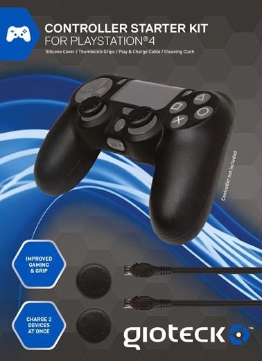 gioteck ps4 controller starter kit playstation 4 moluna. Black Bedroom Furniture Sets. Home Design Ideas