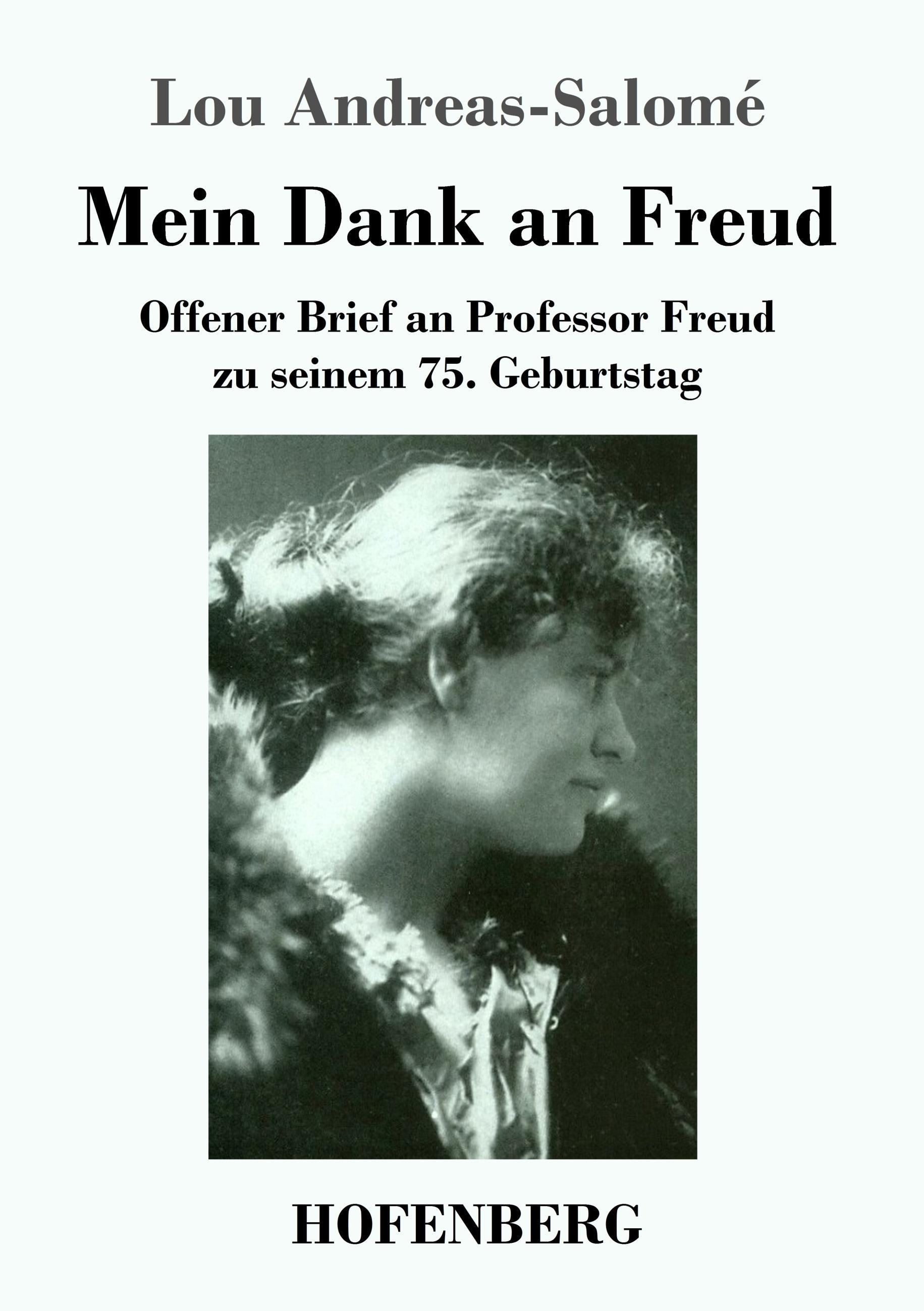 Mein Dank an Freud - Andreas-Salomé, Lou