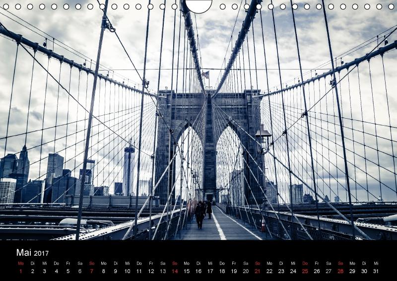kalender 2017 din a4 new york querformat new york big. Black Bedroom Furniture Sets. Home Design Ideas