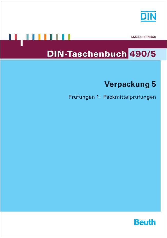 Verpackung 5  DIN-Taschenbücher