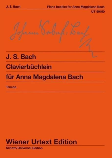 Clavierbuechlein der Anna Magdalena Bach, fuer Klavier - Bach, Johann Sebastian Petzold, Christian
