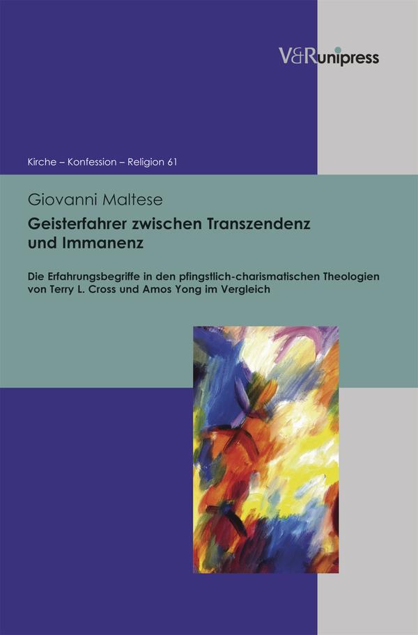 Geisterfahrer zwischen Transzendenz und Immanenz Maltese, Giovanni Kirche - Ko..