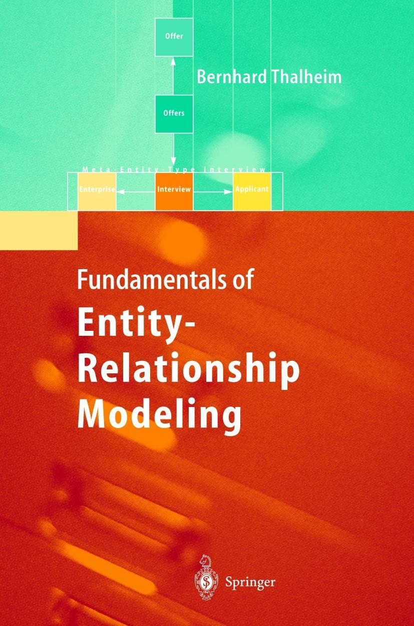 Entity-Relationship Modeling Thalheim, Bernhard