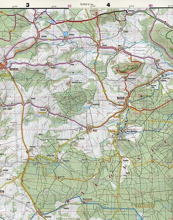 SC 014 Plzensko - sever 1:50T