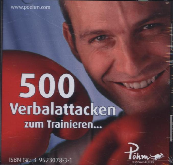 500 Verbalattacken zum Trainieren, Audio-CD