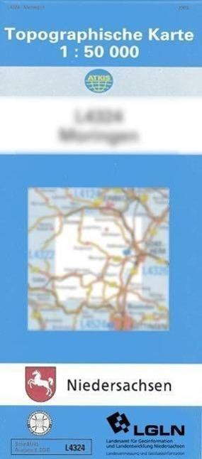 Hameln 1 : 50 000. (TK 3922/N)  Amtliche Karten Niedersachsen 1 : 50 000 Topog..