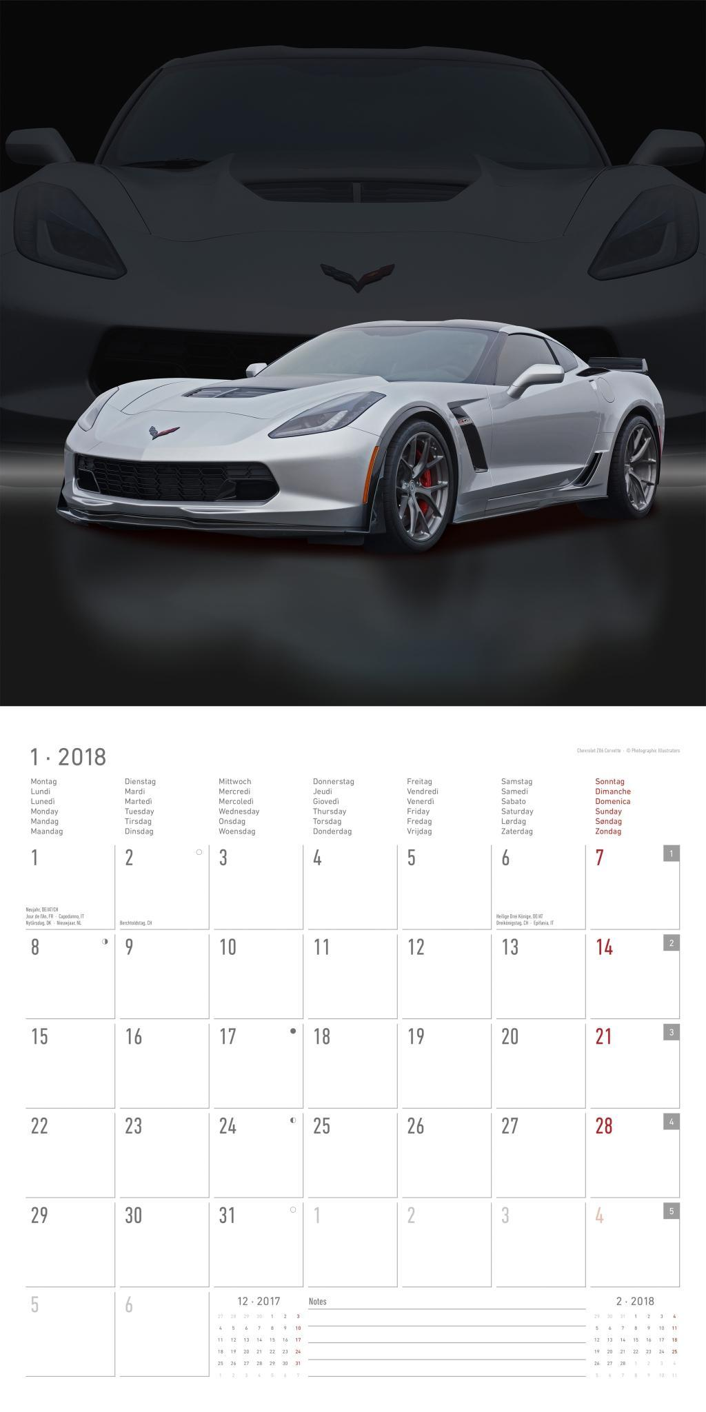 kalender 2018 sports cars 2018 auto kalender verkehr. Black Bedroom Furniture Sets. Home Design Ideas