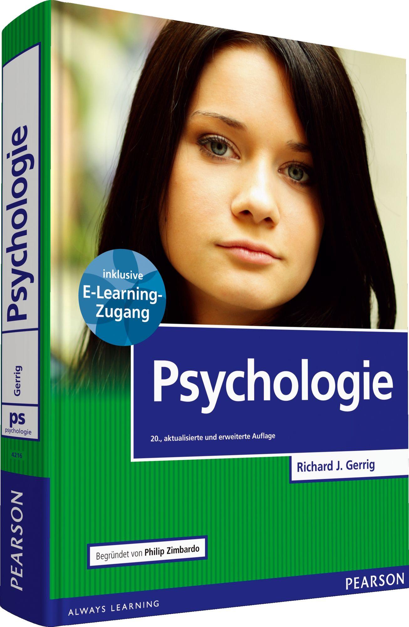 Psychologie Gerrig, Richard J. Zimbardo, Philip G. Pearson Studium ...