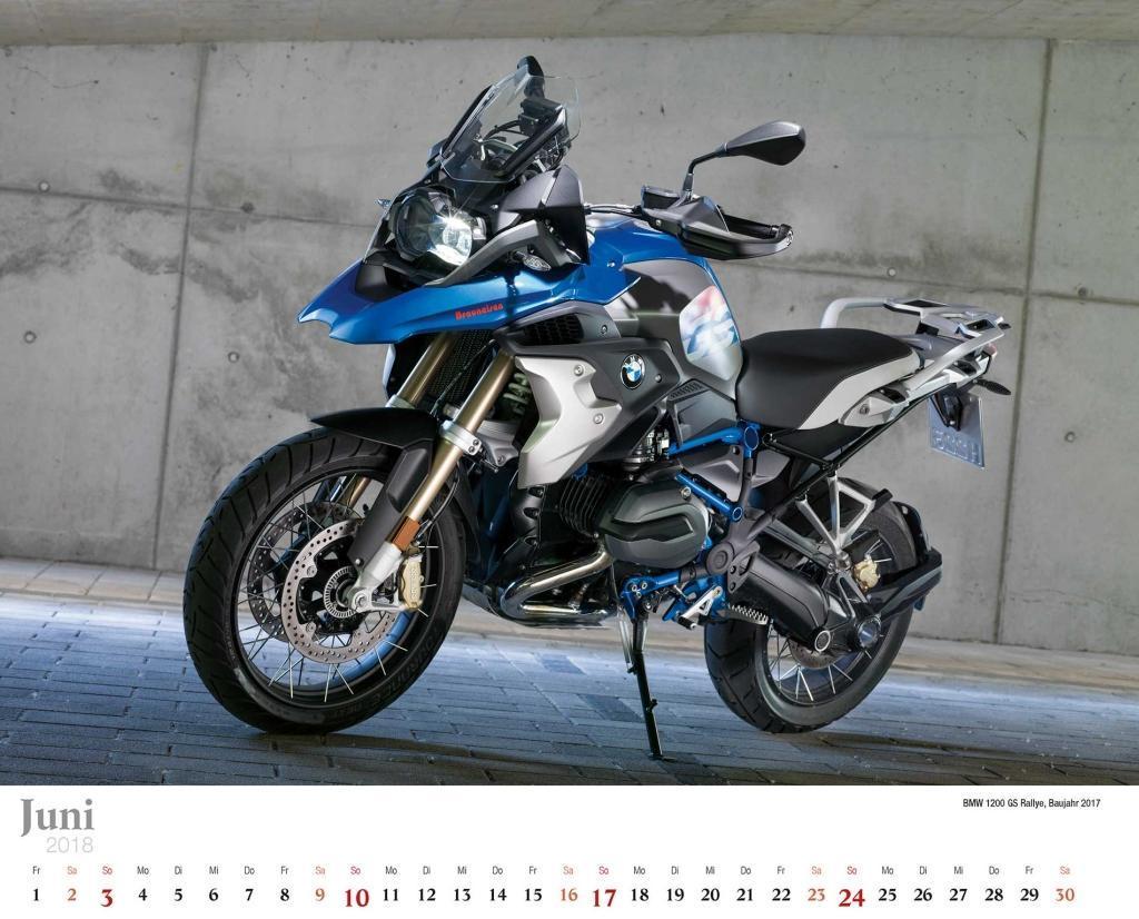 kalender bmw motorr der 2018 bmw motorrad kalender. Black Bedroom Furniture Sets. Home Design Ideas