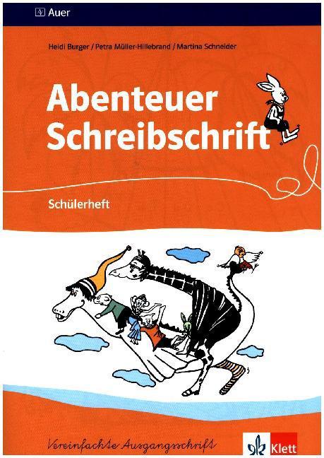 Schuelerheft fuer Rechtshaender - Burger, Heidi Mueller-Hillebrand, Petra Schneider, Martina