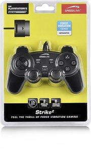 Speedlink SL-4207-SBK-01 STRIKE 2 Gaming Pad - Controller für PS