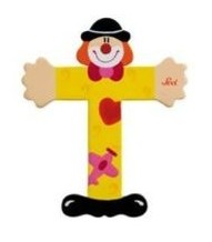Sevi 81756 - Buchstabe: Clown T