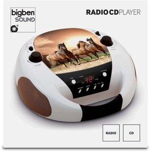 CD-Radio CD52, Radio-CD-Player, Horse