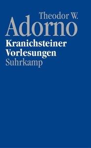 Kranichsteiner Vorlesungen, mit DVD-Audio