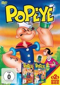 Popeye, 2 DVDs