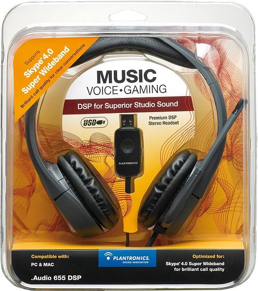 Plantronics® Audio 655 DSP digitales USB-Stereo-Headset