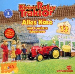 Kleiner Roter Traktor - Alles Käse und 5 weitere Abenteuer, 1 Audio-CD