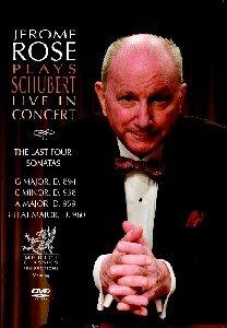 Jerome Rose plays Schubert Live in Concert