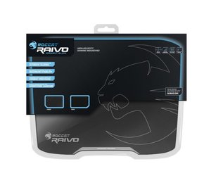 ROCCAT Raivo Midnight Black High-Velocity Gaming Mousepad