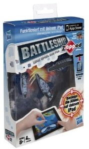 Hasbro A0911100 - Battleship Zapped, spielbar mit iPad