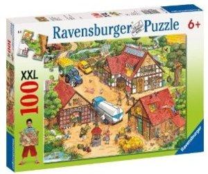 Ravensburger 10613 - Lustiger Bauernhof, 100 Teile Puzzle