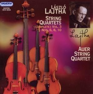 Auer String Quartet: Sämtliche Streichquartette Vol.3