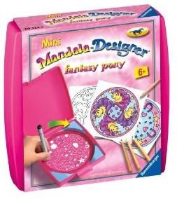 Ravensburger 29724 - Mandala-Designer mini: Fantasy Pony