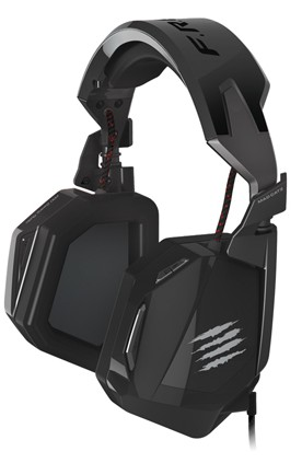 F.R.E.Q. 4D Gaming Headset, Kopfhörer, schwarz