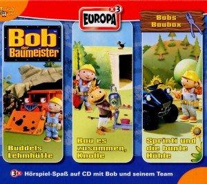 Bob der Baumeister, Bobs Baubox, 3 Audio-CDs