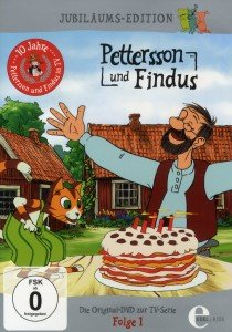 Pettersson & Findus. Folge.1, 1 DVD (Jubiläums-Edition)