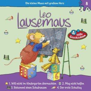 Leo Lausemaus. Folge. 8, Audio-CD