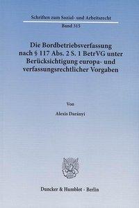 Die Bordbetriebsverfassung nach § 117 Abs. 2 S. 1 BetrVG unter B